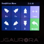 JGAURORA-A5-3D-Drucker-Test-Display-Move