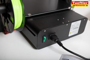 JGAURORA-A5-3D-Drucker-Test-Netzbuchse