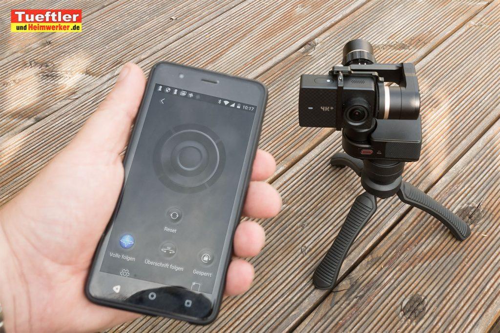 FY-FEIYUTECH-WG2-Gimbal-Test-Smartphone-Steuerung
