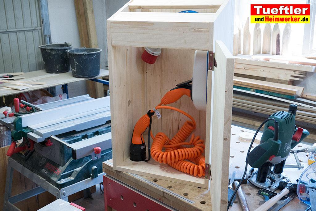 ladestation wallbox bauen go e charger einbauen s5. Black Bedroom Furniture Sets. Home Design Ideas