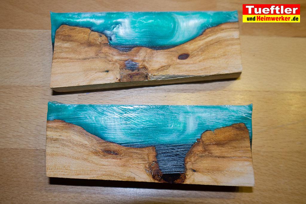 Bekannt Trockenrisse im Holz - Epoxidharz hilft - Tueftler-und-Heimwerker UN13