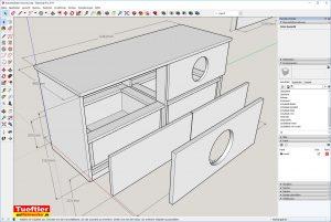 Katzen-Toiletten-Schrank-DIY-Zeichnung-Sketchup