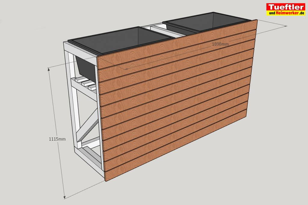 Schritt-10b-Hochbeet-Muellbox-Gartenbox-Sketchup-Bretter-montieren-hinten