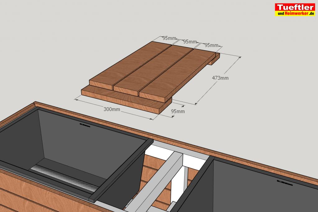 Schritt-14-Hochbeet-Muellbox-Gartenbox-Sketchup-Obere-Abdeckung-bauen