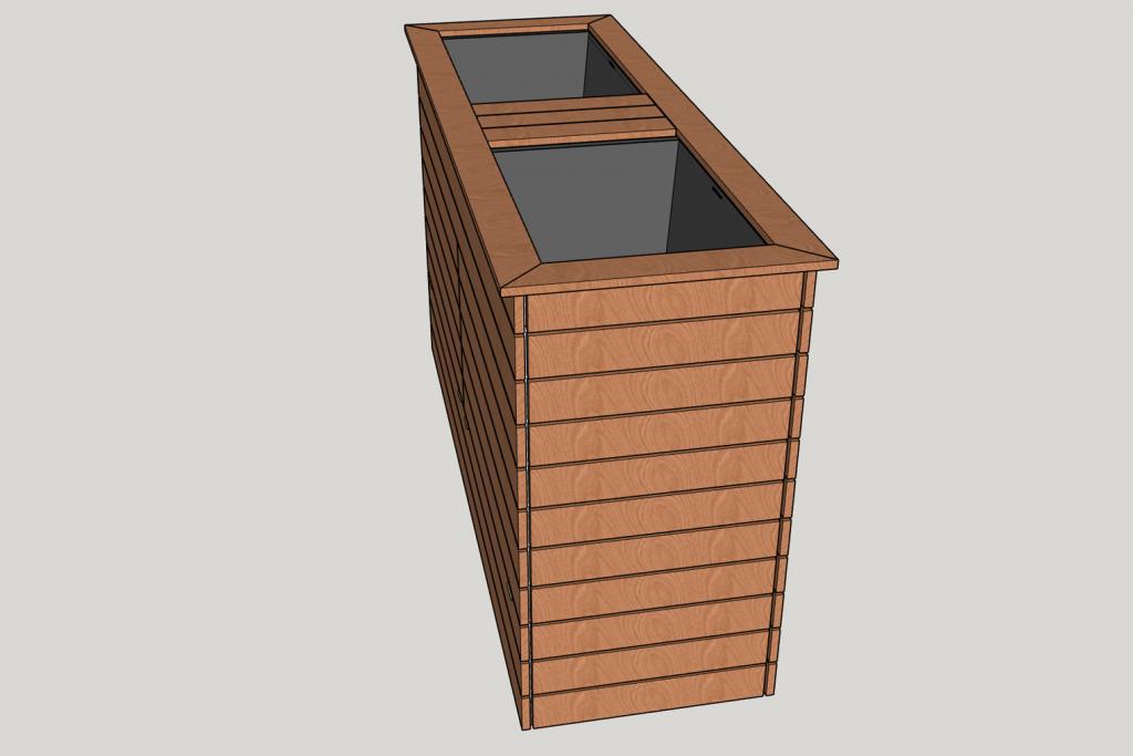 Schritt-14e-Hochbeet-Muellbox-Gartenbox-Sketchup-Fertig