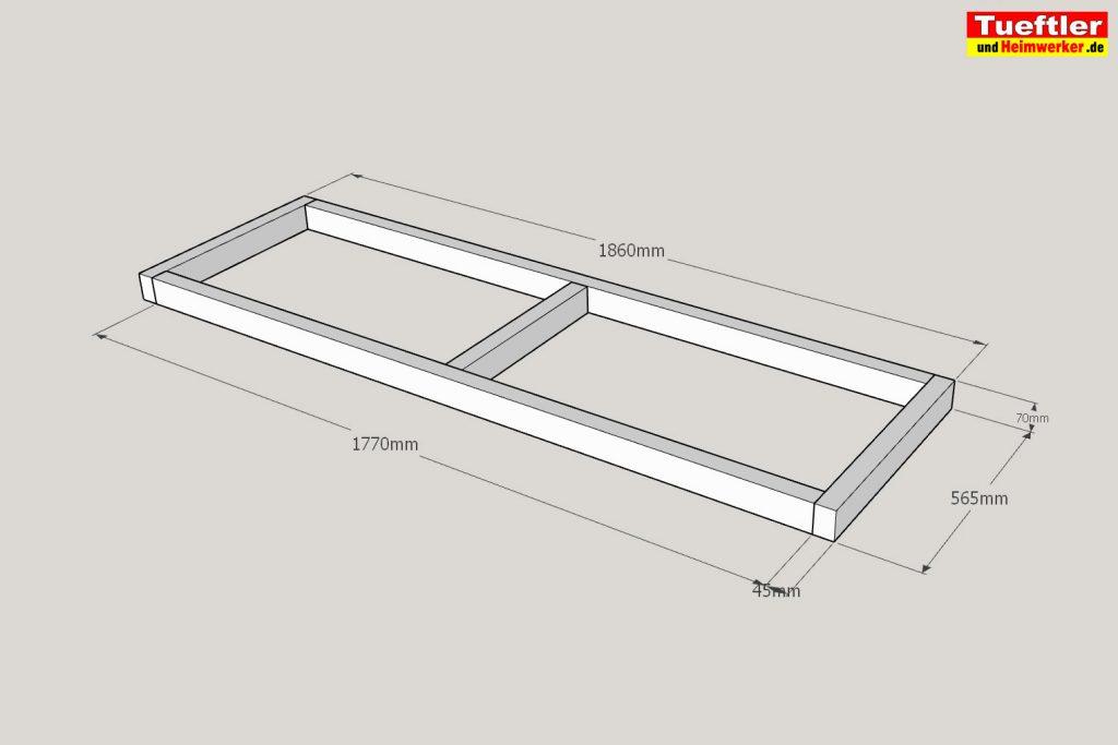 Schritt-4-Hochbeet-Muellbox-Gartenbox--Sketchup-obere-Rahmen