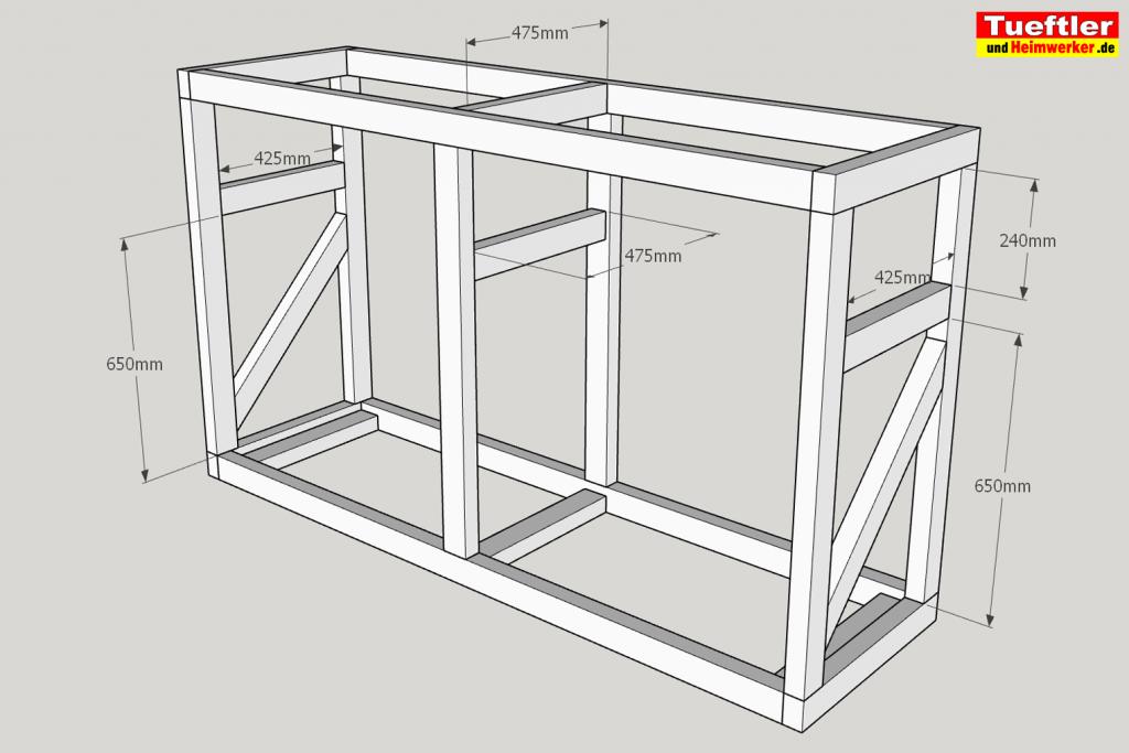 Schritt-5b-Hochbeet-Muellbox-Gartenbox-Sketchup-streben-einbauen