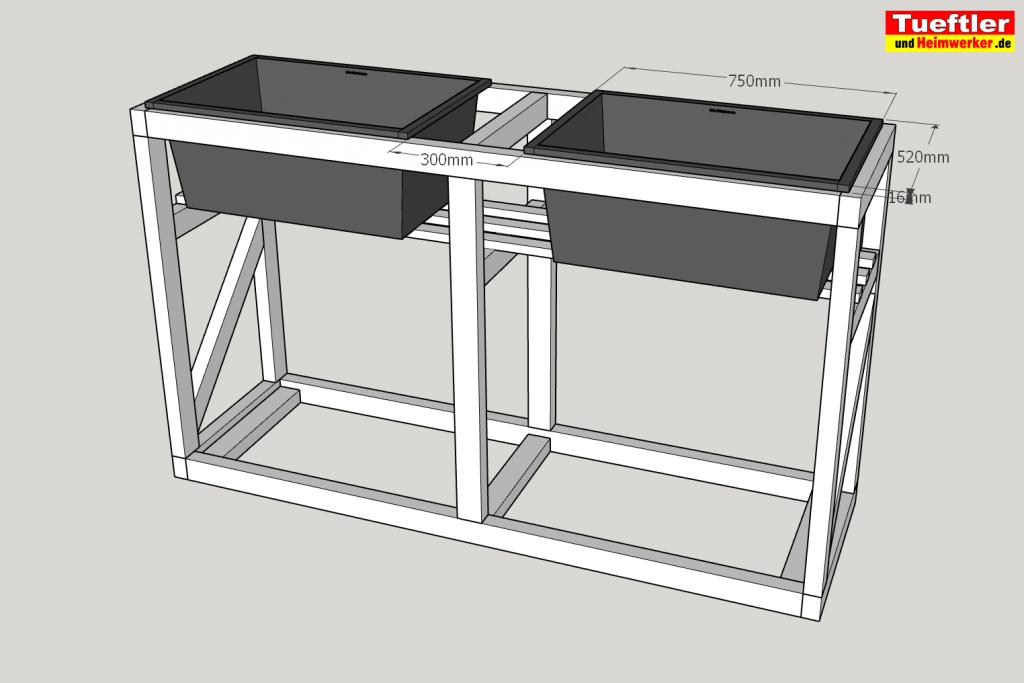 Schritt-6-Hochbeet-Muellbox-Gartenbox-Sketchup-Moertelkuebel-einsetzen
