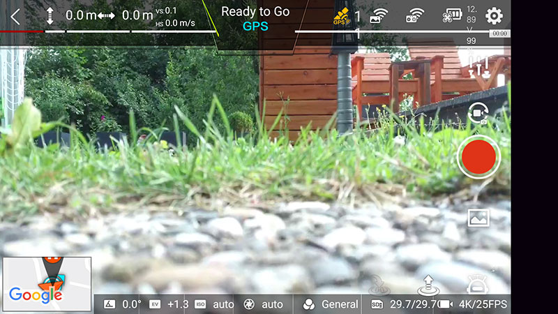 App-FIMI-X8-SE-Live-Bild-vor-start