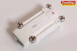 Drohne-Test-FIMI-X8-SE-Drohne-Zusammengeklappt
