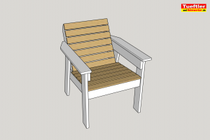 Gartenstuhl-bauen-DIY-Sketchup-Fertig-gebaut