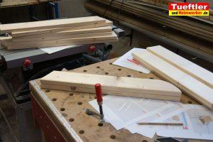 Gartenstuhl-bauen-Fichte-Bretter-zusaegen