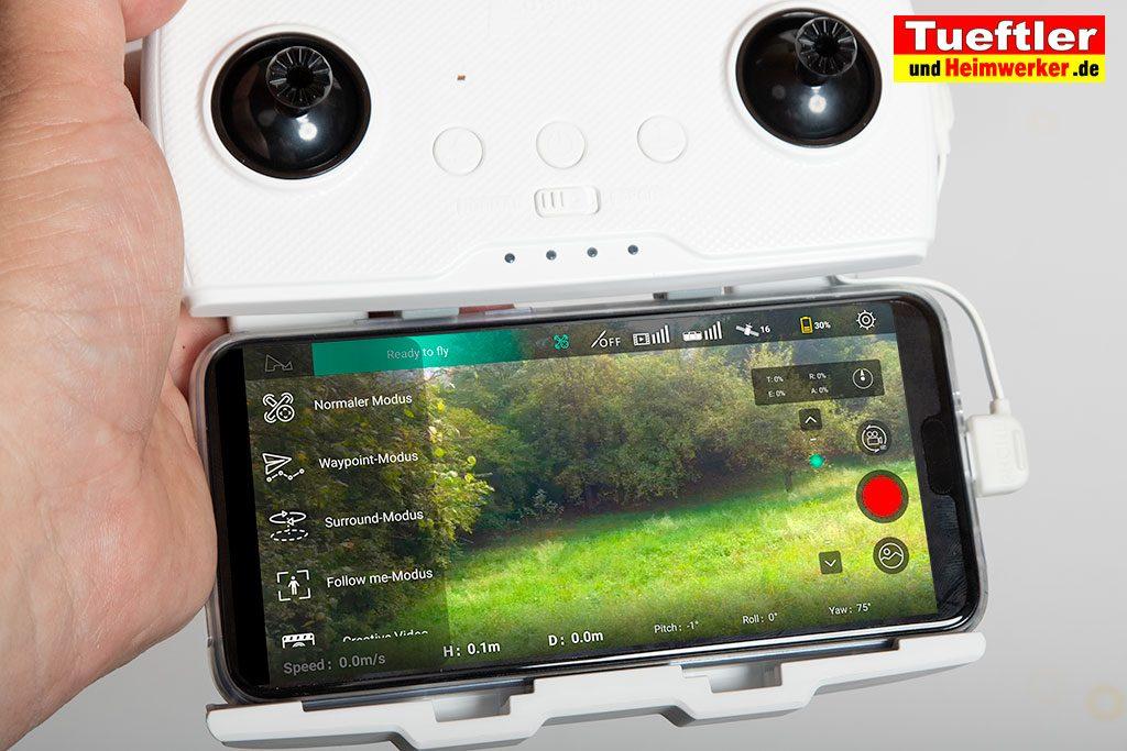 App-Drohne-Hubsan-H117S-Zino-Flugmodis-Smartphone
