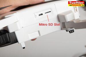 Drohne-Hubsan-H117S-Zino-Speicherkarte
