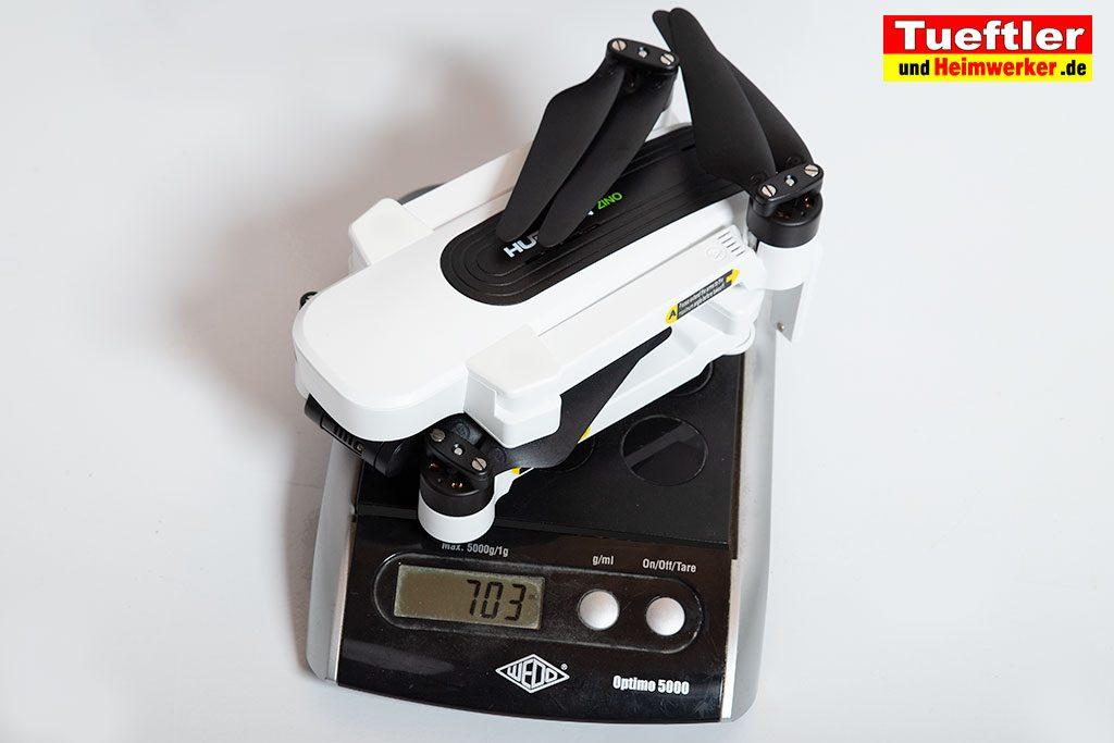 Drohne-Hubsan-H117S-Zino-Test-Gewicht