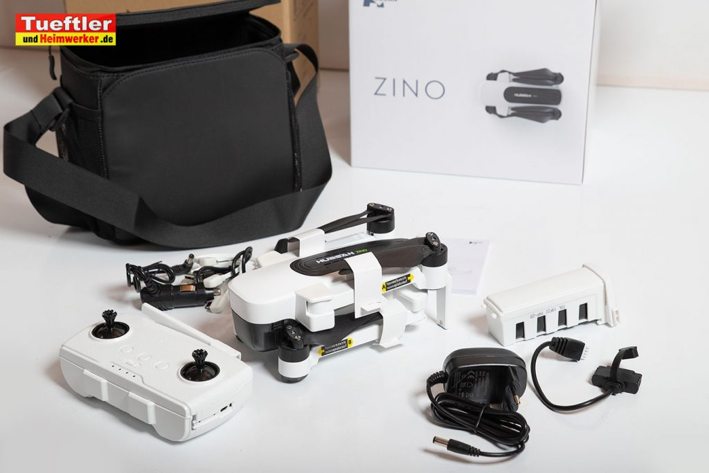 Drohne-Hubsan-H117S-Zino-Test-Lieferumfang