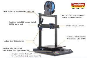 Artillery-Sidewinder-X1-Test-3D-Aufbau
