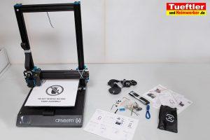 Artillery-Sidewinder-X1-Test-3D-Drucker--Zusammenschrauben