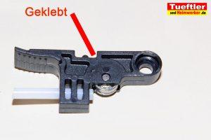 Artillery-Sidewinder-X1-gebrochener-idler-arm-geklebt-7b