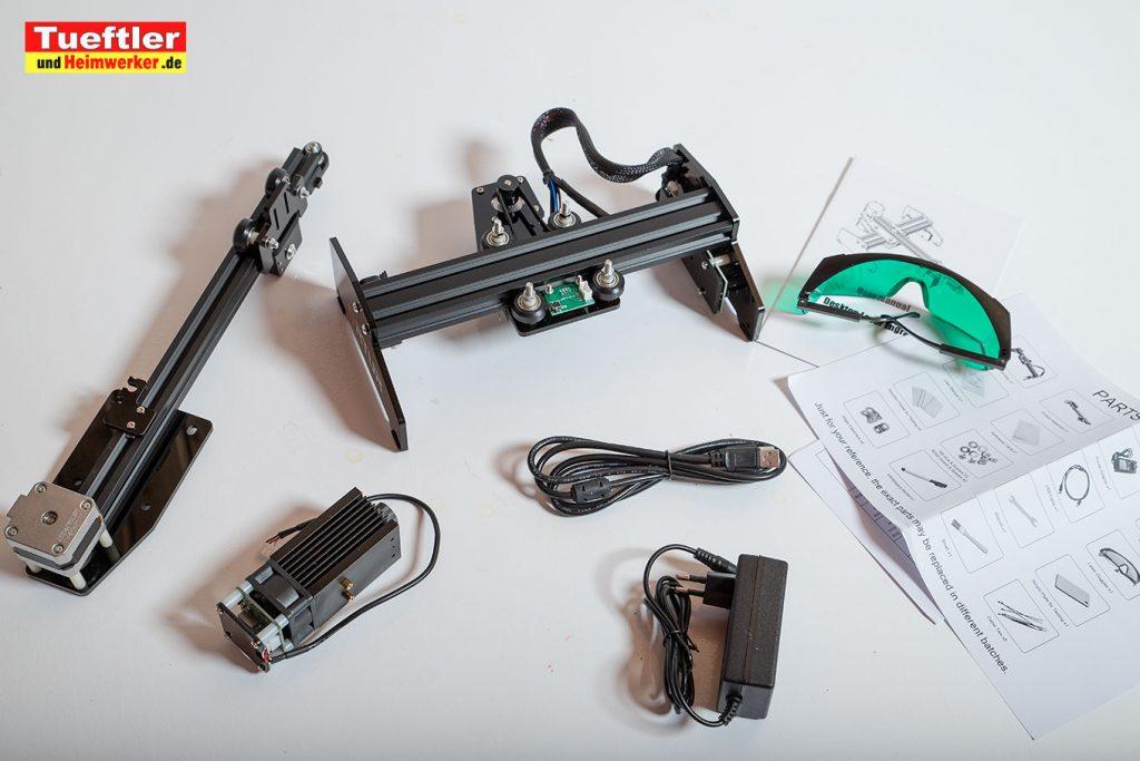 Ortur-Laser-Master-Test-Lasergravur-Lieferumfang