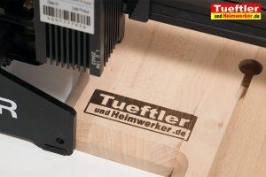 Ortur-Laser-Master-Test-Lasergravur-Logo-Buche
