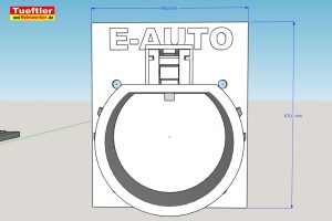Typ2-Halter-Elektromobilitaet-3D-Modell-Typ-2-Sketchup-Zeichnung-2