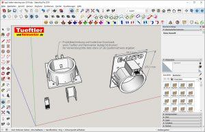 Typ2-Halter-Elektromobilitaet-3D-Modell-Typ-2-Sketchup-Zeichnung-4
