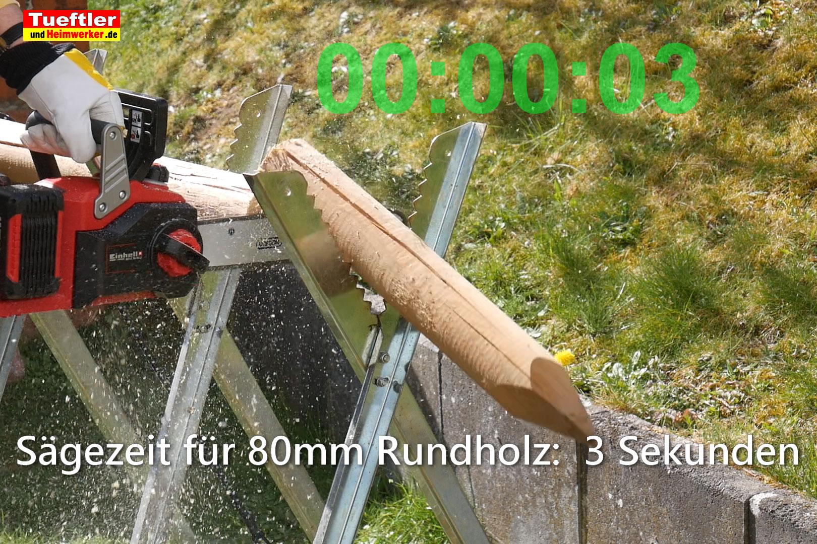 Einhell-GE-LC-36-35-LI-Test-Schnittzeit-80mm