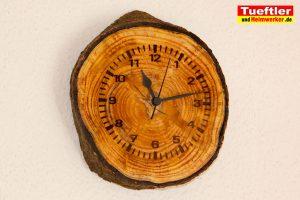 Baumscheiben-Funkuhr-diy-Wand-Epoxid-2