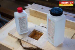 Baumscheiben-Uhr-Epoxidharz-Riss-3