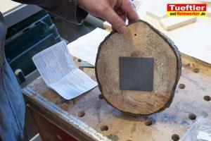 Baumscheiben-Uhrwerk-einbauen-4
