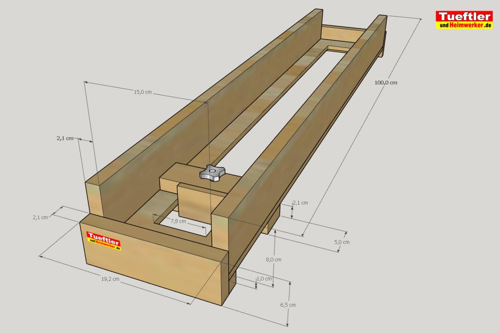 Planfaesen-Abrichten-Oberfraese-DIY-Sketchup-Zeichnung-1