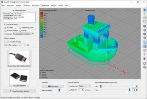 Flsun-Q5--Delta-3D-Drucker-Test-3D-Benchy-Slicer-1