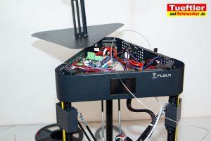 Flsun-Q5--Delta-3D-Drucker-Test-Elektronik-geoeffnet-1