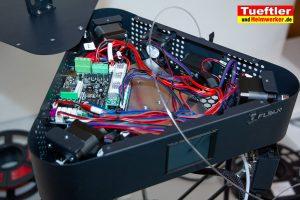 Flsun-Q5--Delta-3D-Drucker-Test-Elektronik-geoeffnet-2