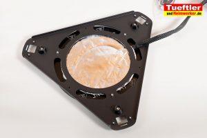 Flsun-Q5-Delta-3D-Drucker-Test-Heizbett-Unteransicht