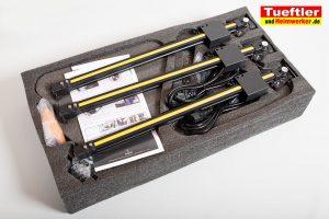 Flsun-Q5-Delta-3D-Drucker-Test-Lieferumfang-Verpackung