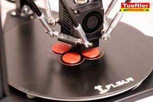 Flsun-Q5-Delta-3D-Drucker-Test-Muenzen-drucken