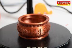 Flsun-Q5-Delta-3D-Drucker-Test-Schale-drucken-2