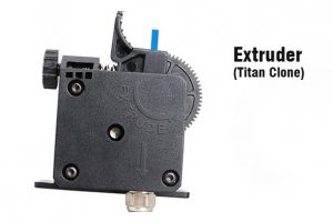 Flsun-Q5-Delta-3D-Drucker-Test-Titan-Extruder