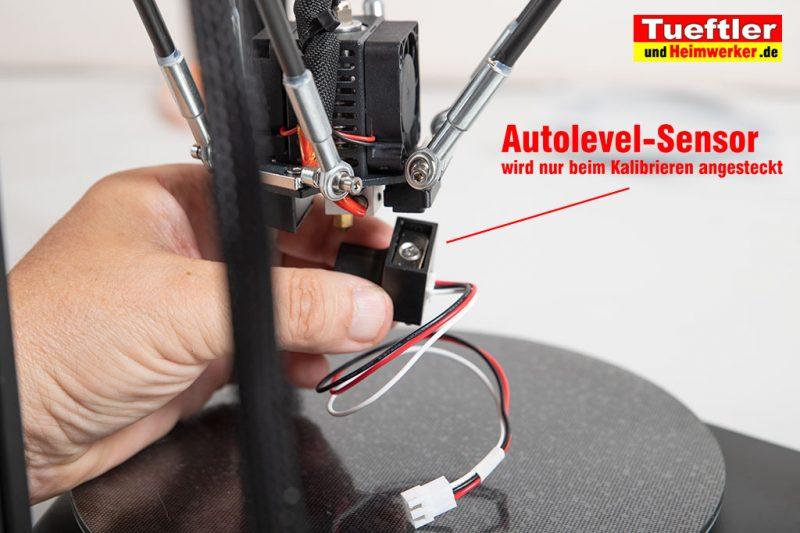 Flsun-Q5-Delta-3D-Drucker-Tutorial-Aufbau-Autolevel-Sensor-1