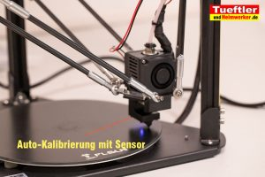 Flsun-Q5-Delta-3D-Drucker-Tutorial-Aufbau-Autolevel-starten-3