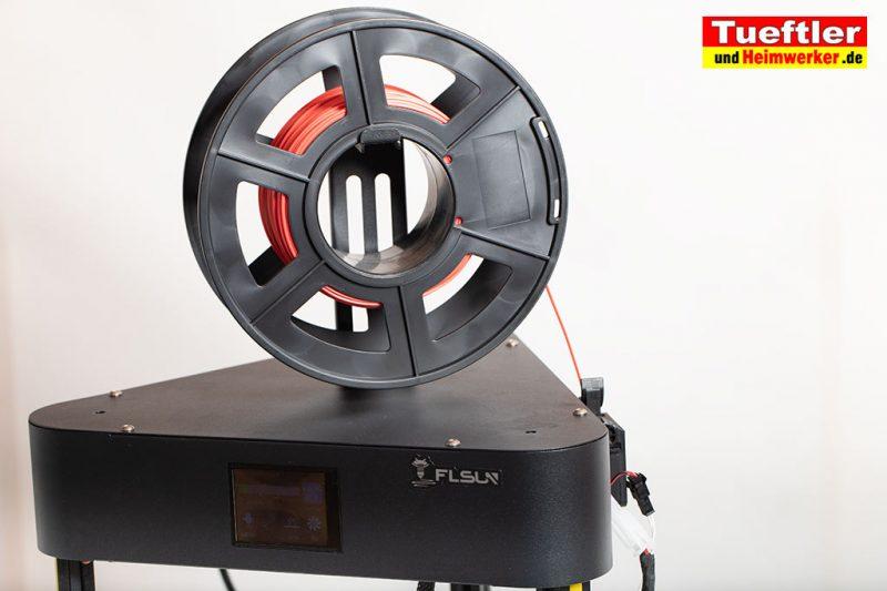 Flsun-Q5-Delta-3D-Drucker-Tutorial-Aufbau-Filamentrollenhalter-montieren-2