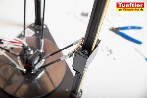 Flsun-Q5-Delta-3D-Drucker-Tutorial-Aufbau-Gestaenge-an--Wagen-montieren-1