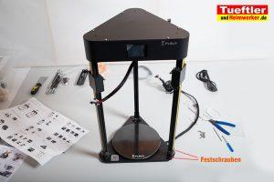Flsun-Q5-Delta-3D-Drucker-Tutorial-Aufbau-Unterteil-anschrauben-1