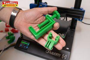 Artillery-Genius-Test-3D-Drucker-Actioncam-Clip-fuer-Schraubklemme-2