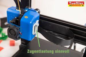 Artillery-Genius-Test-3D-Drucker-Eigenbau-Zugentlastung