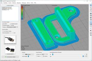 Artillery-Genius-Test-3D-Drucker-PETG-Frog-Kabel-Zugentlastung2