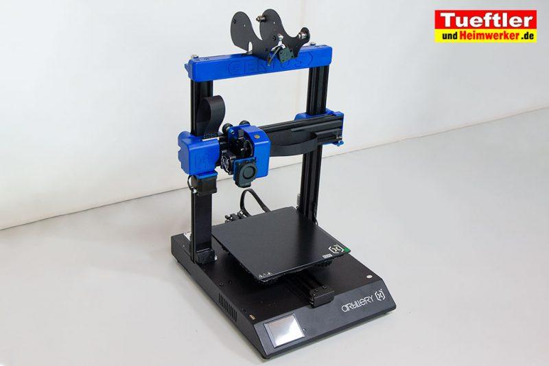 Artillery-Genius-Test-3D-Drucker-Zusammenbau-5
