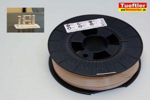 Filament-Test-das-Filament-PETG-beige-rolle